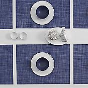 Mini Basketweave Set of 4 Rectangular Tablemats