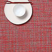 Mini Basketweave Table Mat (Tomato) - OPEN BOX RETURN