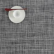 Mini Basketweave Tablemat (Black/White) - OPEN BOX RETURN