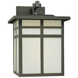 Mission Wall Sconce (Cream/Black/Large) - OPEN BOX RETURN