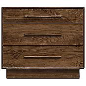 Moduluxe 29-Inch 3 Drawer Dresser