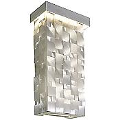 Mosaic LED Tall Wall Sconce