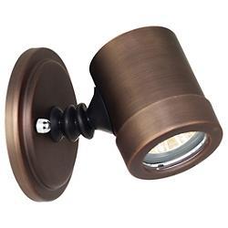 Myra Adjustable Spotlight (Bronze/Clear) - OPEN BOX RETURN