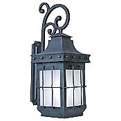 Nantucket ES Outdoor Wall Sconce with Scroll