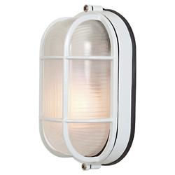 Nauticus Oval Ceiling/Wall Light (White/Large) - OPEN BOX