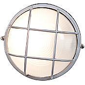 Nauticus Round Wall Light (Satin/Large) - OPEN BOX RETURN