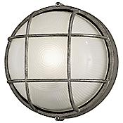 Oceanview Outdoor Wall Sconce Round