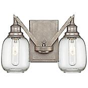 Orsay Wall Sconce (Clear/Steel) - OPEN BOX RETURN