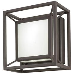 Outline LED Outdoor Square Wall Sconce