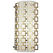 Parker Half Round Wall Sconce (Antique Brass) - OPEN BOX