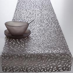 Pebble Table Runner (Gunmetal) - OPEN BOX RETURN