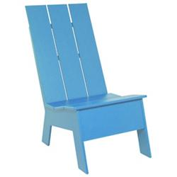 Picket High Back Chair (Sky Blue) - OPEN BOX RETURN