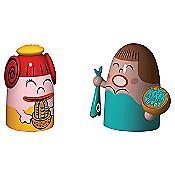 Pina Farina & Fiona Fish Figurines (Multi) - OPEN BOX