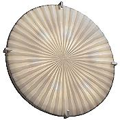 Porcelina Clips Round Ceiling/Wall Light