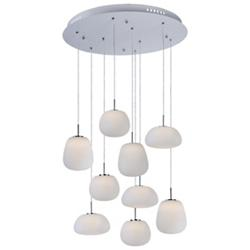 Puffs LED Multi-Light Pendant