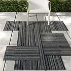 Purl Stripe Shag Indoor / Outdoor Mat