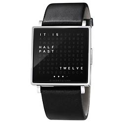 QLOCKTWO W Watch (Stainless Steel/English) - OPEN BOX RETURN
