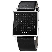QLOCKTWO W Watch (Stainless Steel/German) - OPEN BOX RETURN