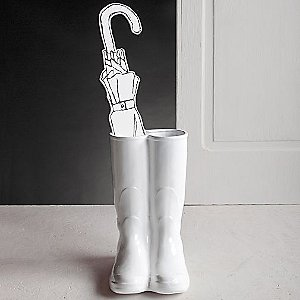 Rainboots Umbrella Stand by Seletti