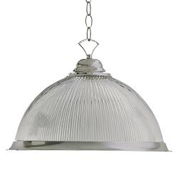 Ribbed Dome Pendant