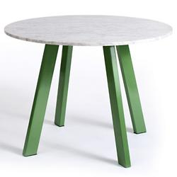 Right Round Marble Dining Table