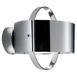Ring Inox Wall Sconce