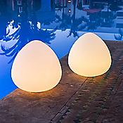 Rock LED Indoor/Outdoor Lamp