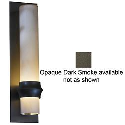 Rook Outdoor Wall Sconce (Opal/Smoke/M) - OPEN BOX RETURN