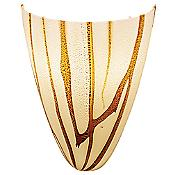 Safari Italian Art Glass Wall Sconce