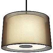Saturnia Pendant (Bronze/White) - OPEN BOX RETURN