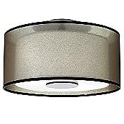 Saturnia Semi-Flushmount (Bronze/White) - OPEN BOX RETURN