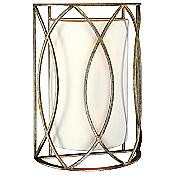 Sausalito Wall Sconce (Silver Gold/Linen) - OPEN BOX RETURN
