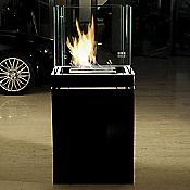 Semi Flame Fireplace