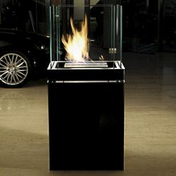 Semi Flame Fireplace