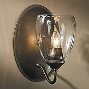 Simple Lines Single Wall Sconce (Bronze) - OPEN BOX RETURN