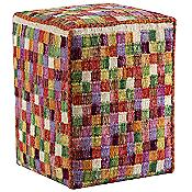 Small Box Square Pouf