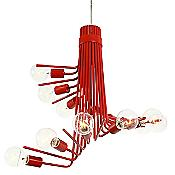 Socket-To-Me Chandelier (Tangerine/12 Lights) - OPEN BOX