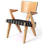Spanner Lounge Chair (Black/Light Birch) - OPEN BOX RETURN