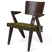 Spanner Lounge Chair (Green/Dark Birch) - OPEN BOX RETURN