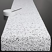 Spun Vinyl Table Runner (White) - OPEN BOX RETURN
