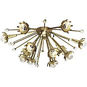 Sputnik Ceiling/Wall Light (Brass) - OPEN BOX RETURN