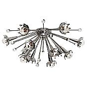 Sputnik Ceiling/Wall Light (Nickel) - OPEN BOX RETURN