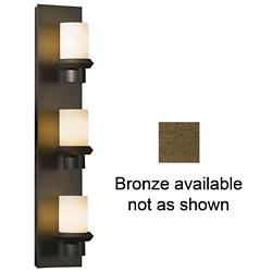 Staccato Wall Sconce (Opal/Clear/Bronze) - OPEN BOX RETURN