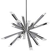 Starburst LED Chandelier (Polished Chrome) - OPEN BOX RETURN