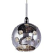 Starburst Mini Pendant - Mirror Chrome