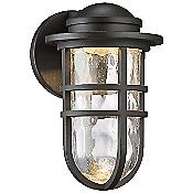 Steampunk dwelLED Indoor/Outdoor Wall Sconce