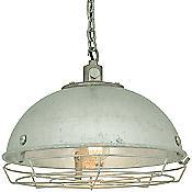 Steel Working Light Pendant