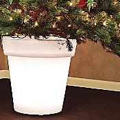 Stella Illuminated Christmas Tree Pot