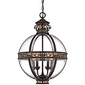 Strasbourg Pendant (Clear/Fiesta Bronze) - OPEN BOX RETURN