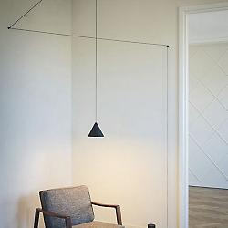 String Cone LED Pendant